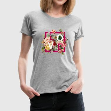 fashion and floral trend - Women's Premium T-Shirt