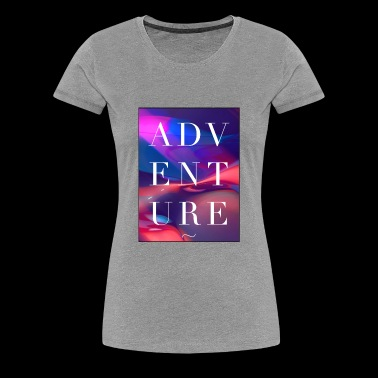 adventure illusion optical liquid Summer - Women's Premium T-Shirt