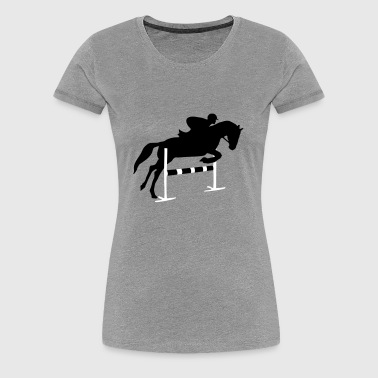 Riding, horse, equestrian - Women's Premium T-Shirt