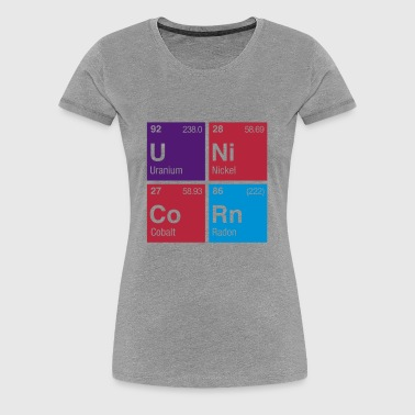 UNiCoRn Periodic Table - Women's Premium T-Shirt