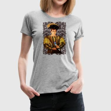 10th Doctor parody - Women's Premium T-Shirt