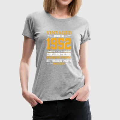 Vintaged Made In 1952 Limited Editon - Women's Premium T-Shirt