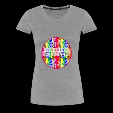 Disabled Queer Mens T Shirt - Women's Premium T-Shirt