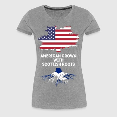 American grown with Scottish roots T Shirt - Women's Premium T-Shirt
