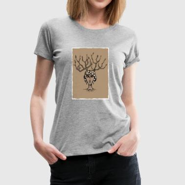 The Tree Girl - Women's Premium T-Shirt