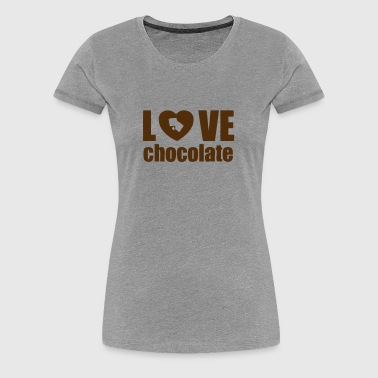 love chocolate - Women's Premium T-Shirt