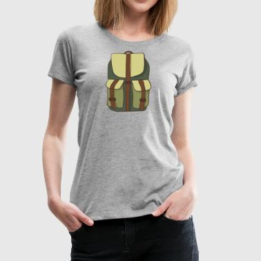 backpacker - Women's Premium T-Shirt