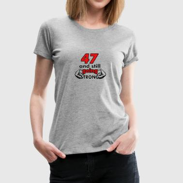 47th birthday design - Women's Premium T-Shirt