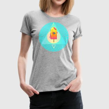 Ice Cream God - Women's Premium T-Shirt