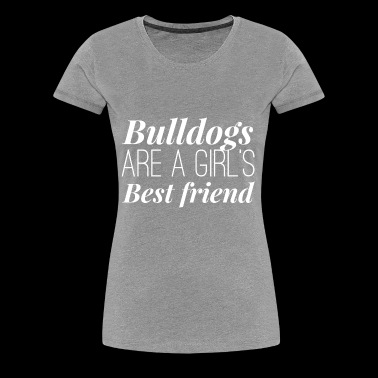 Bulldog Girl - Women's Premium T-Shirt