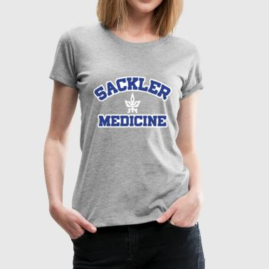 Sackler Medicine Customizable, Flex Print, Pocket - Women's Premium T-Shirt