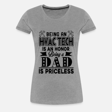 Long Sleeve Shirt Being an HVAC Tech is an Honor Tee Shirt Design