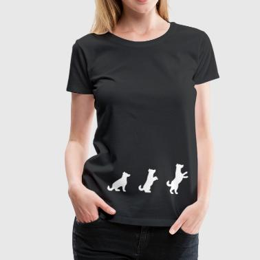 dog dog dog - Women's Premium T-Shirt