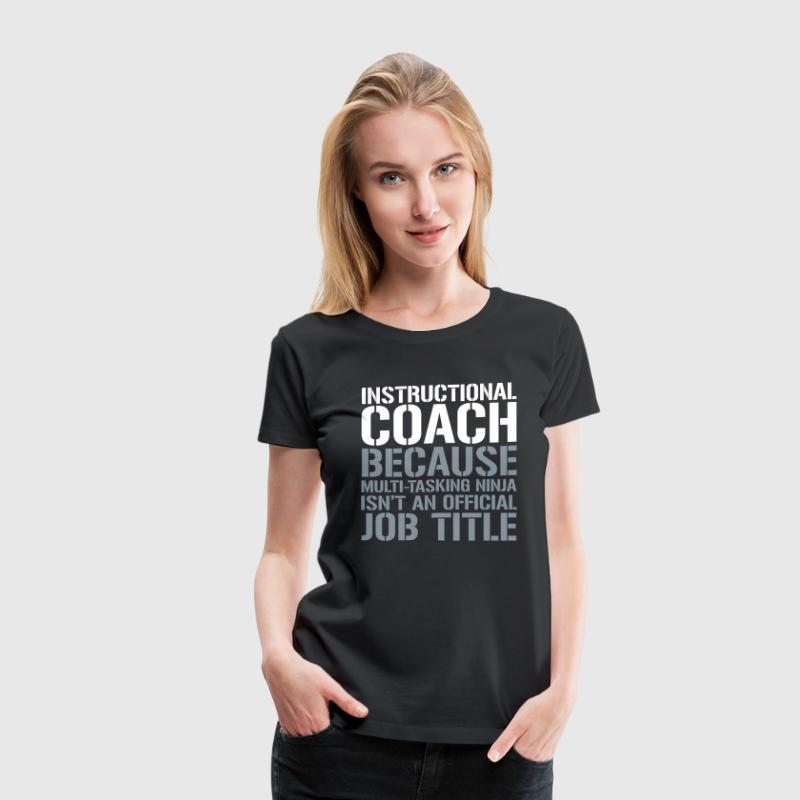 Instructional Coach Ninja Isnt Job Title By Teacher T Shirts