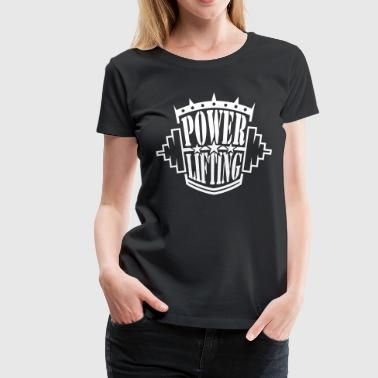 powerlifting - Women's Premium T-Shirt