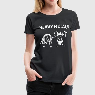 Funny Heavy Metals Drawing - Women's Premium T-Shirt