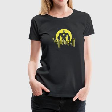 Giant Robot - Skyline - Women's Premium T-Shirt