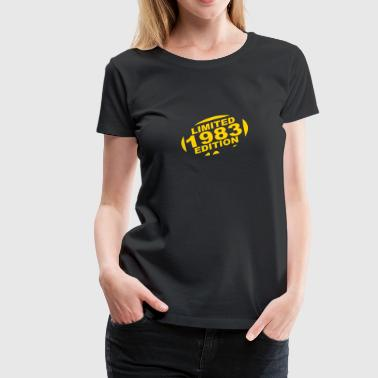 year 1983 limited edition - Women's Premium T-Shirt