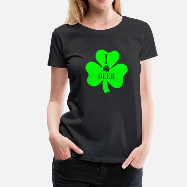 I Shamrock Beer - Women's Premium T-Shirt