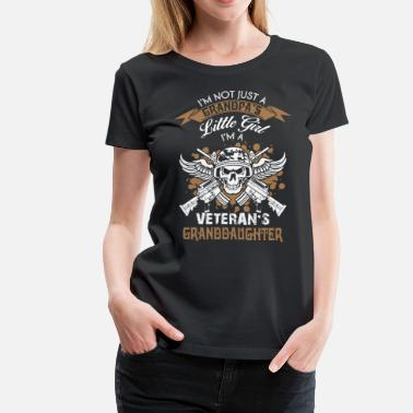 Veterans Granddaughter I'm A Veteran's Granddaughter T Shirt - Women's Premium T-Shirt