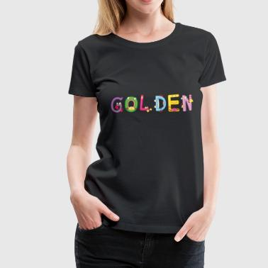 Golden - Women's Premium T-Shirt