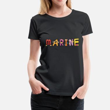 Marinating Marine - Women's Premium T-Shirt