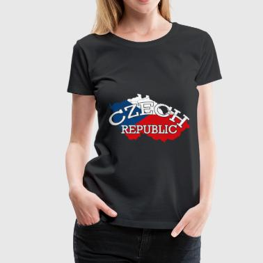 Czech Prague Czech Republic gift Prague Czech - Women's Premium T-Shirt