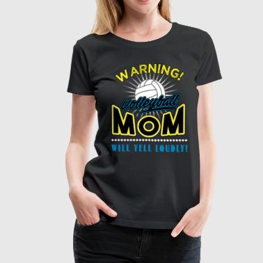 Volleyball, Volleyball mom - Women's Premium T-Shirt