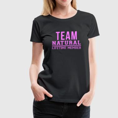 team_natural - Women's Premium T-Shirt