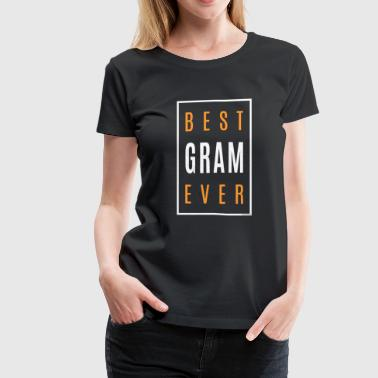 Gram Shirt Gifts - Women's Premium T-Shirt