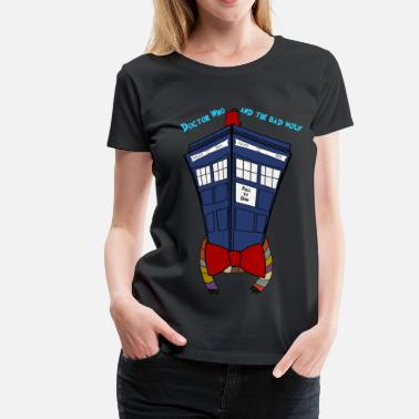 Dr Who Dr. Suess meets Doctor Who - Women's Premium T-Shirt
