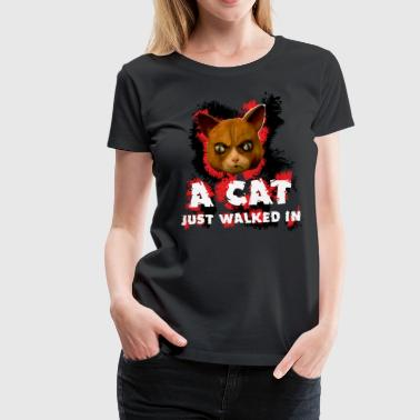 Mad Dogs Cat Shirt - Women's Premium T-Shirt