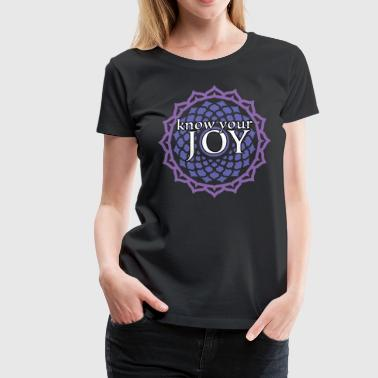 Crown Chakra Joy - Women's Premium T-Shirt