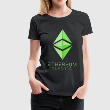 Ethereum Classic green - Women's Premium T-Shirt