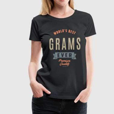 Best Grams Best Grams - Women's Premium T-Shirt