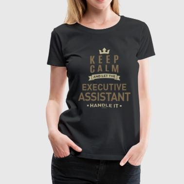 Executive Assistant - Women's Premium T-Shirt