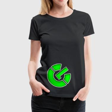 Power On Symbol - Women's Premium T-Shirt