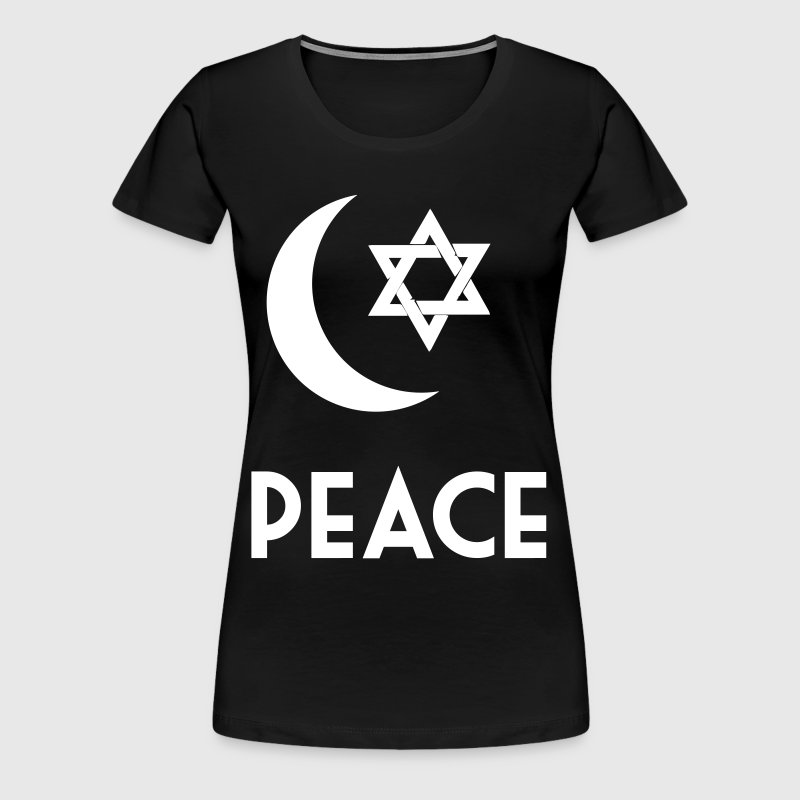 Peace For My Religion, Islam Inspiration - Women's Premium T-Shirt