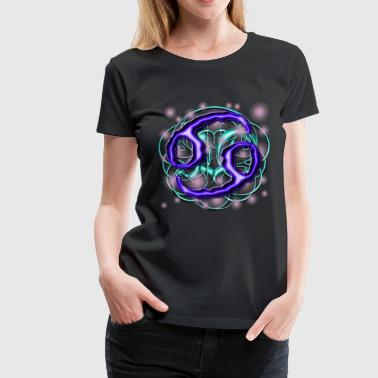 Cancer Astrological Sign [1] Persephone Prdctns - Women's Premium T-Shirt