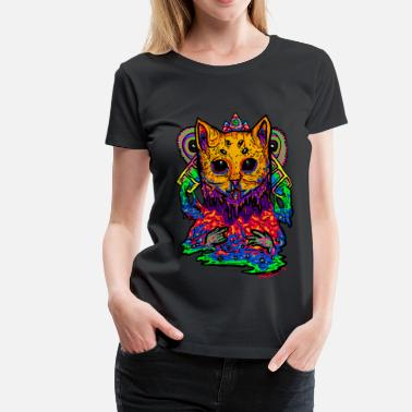 Psychedelic Monster Series: Charging Up - Women's Premium T-Shirt