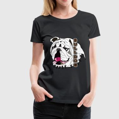 Bulldog - Women's Premium T-Shirt