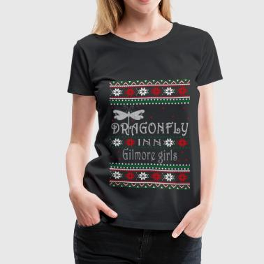 Gilmore girls - Dragonfly awesome Xmas sweater - Women's Premium T-Shirt