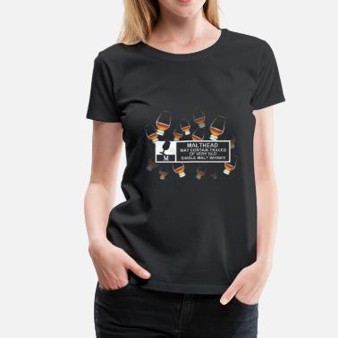 Single Malt Malthead Warning - Women's Premium T-Shirt