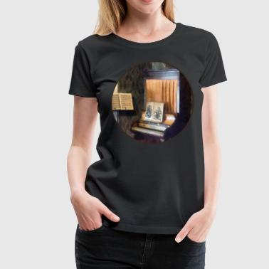 Piano and Sheet Music on - Women's Premium T-Shirt