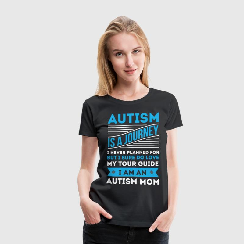 AUTISM MOM SHIRT - WORLD AUTISM AWARENESS DAY - Women's Premium T-Shirt