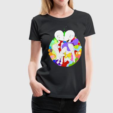 Art Love Art Love - Women's Premium T-Shirt