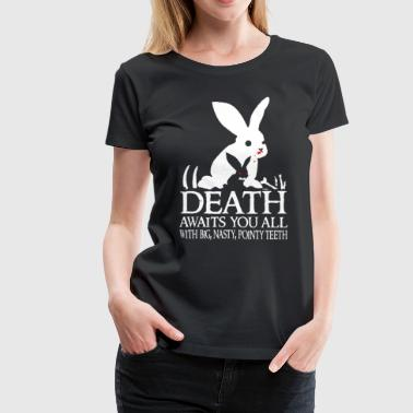 Tim the Enchanter - Death awaits you all - Women's Premium T-Shirt