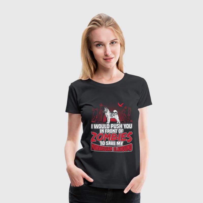 Norwegian Elkhound - Women's Premium T-Shirt