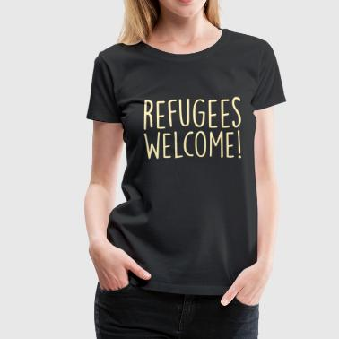 refugees - Women's Premium T-Shirt