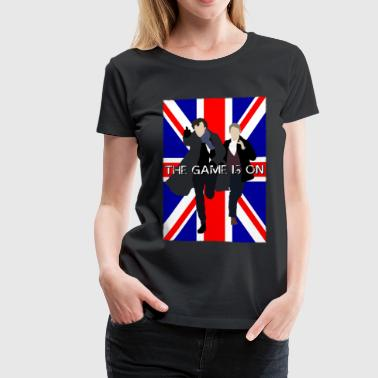 Sherlock - The Game is On - Women's Premium T-Shirt